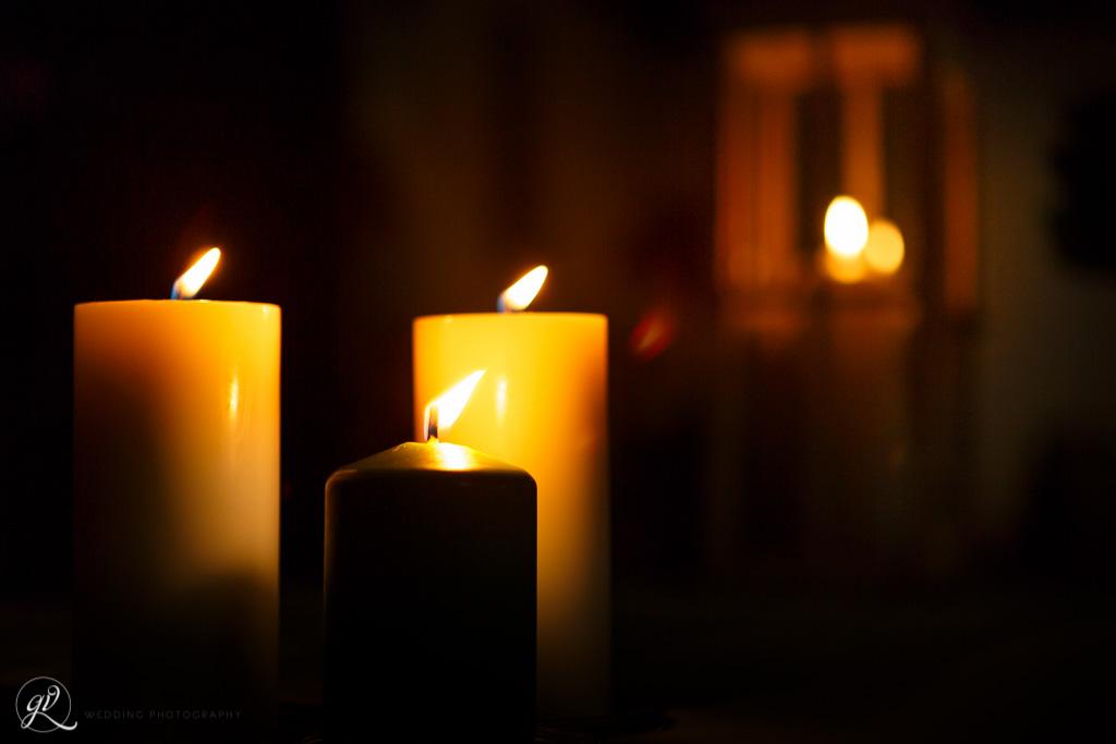 una romantica illuminazione per un meraviglioso matrimonio