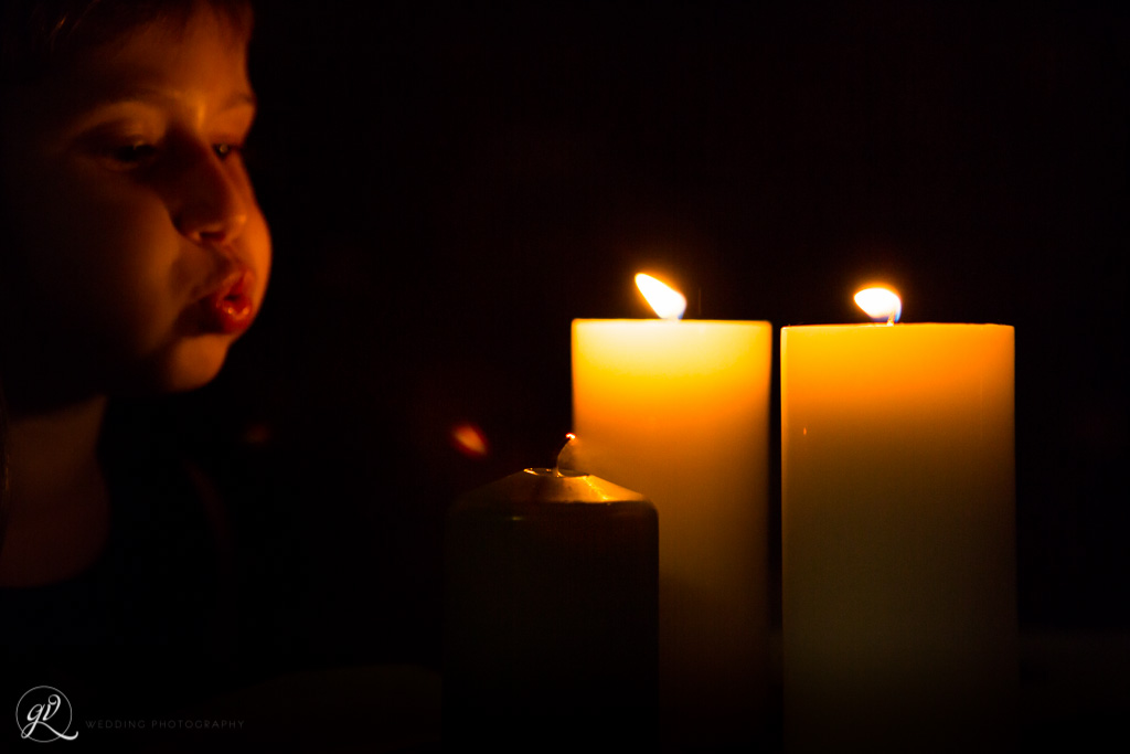 tante candele per donare romanticismo al matrimonio