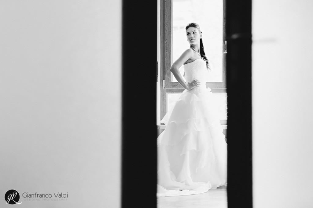 fotografia scattata prima delle nozze