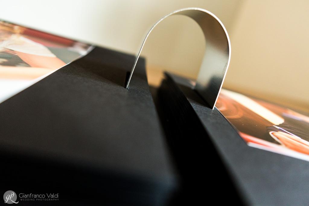 anello per fotografie visto in prospettiva