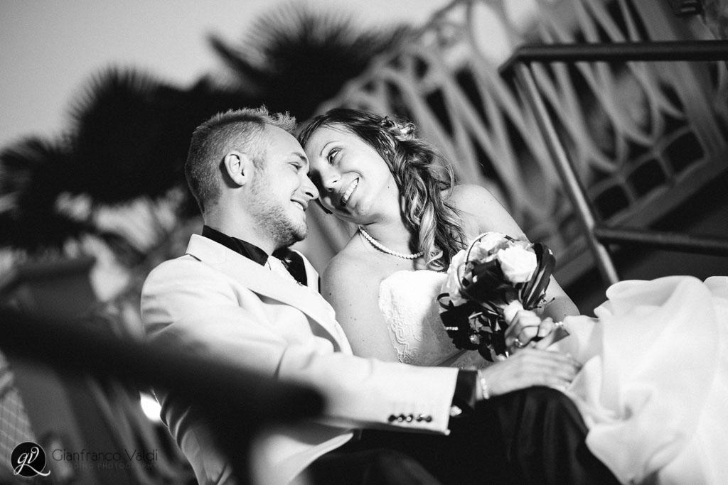 foto degli sposi a rivoli prima del ricevimento