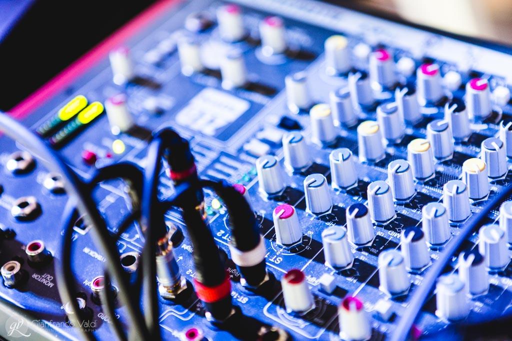Il DJ al lavoro