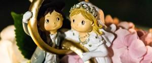 non mancano le foto ai particolari del matrimonio