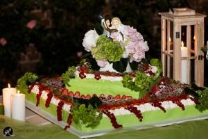la torta del matrimonio è piaciuta a tutti gli invitati