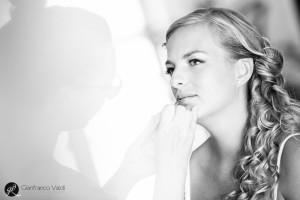 cerimonia di matrimonio di una giovane ragazza