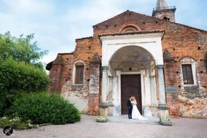 il matrimonio si è svolto in una bella giornata