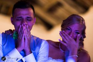 foto di tante emozioni per queste nozze