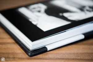 un particolare delle pagine del fotolibro