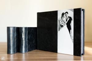 kit di tre fotolibri per matrimonio