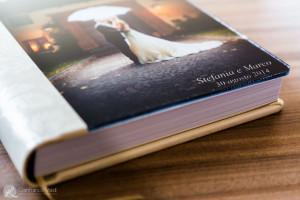 gli sposi possono scegliere di realizzare un album con copertina fotografica