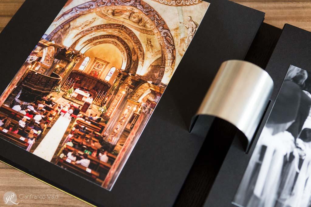 una pagina che mostra la chiesa delle nozze