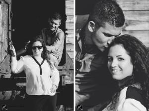 foto in bianco e nero per dolci ricordi