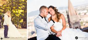 abbracci e dolcezza dopo il matrimonio al castello di rivoli