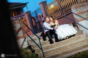 i gradini su cui i due innamorati si sono conosciuti