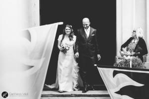 Il matrimonio si è celebrato e sta per iniziare la festa