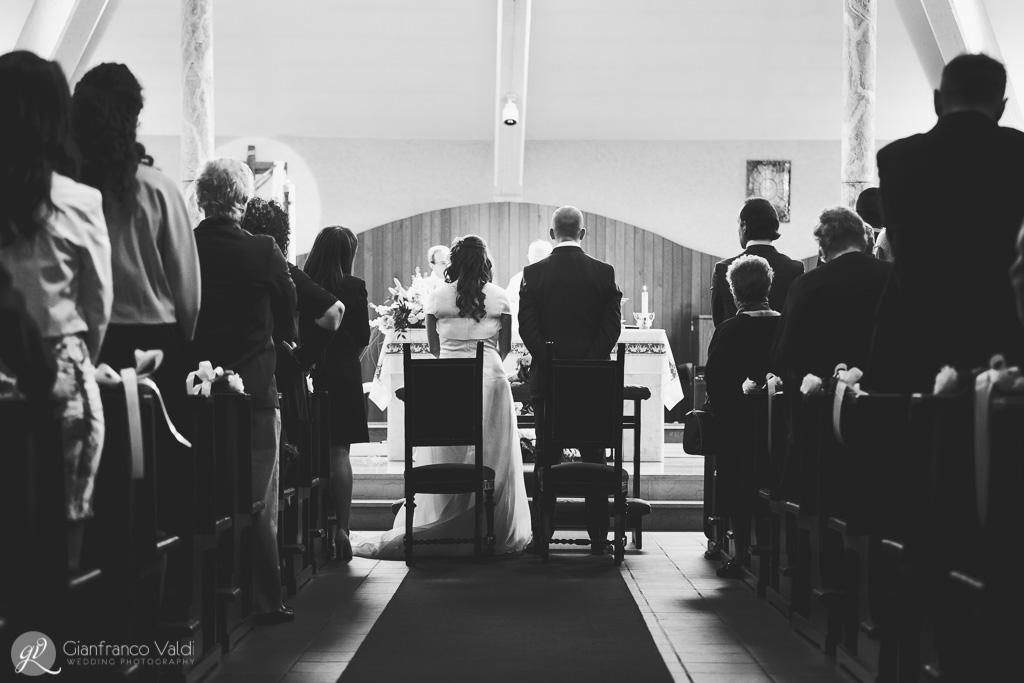 Postazione per la celebrazione della messa