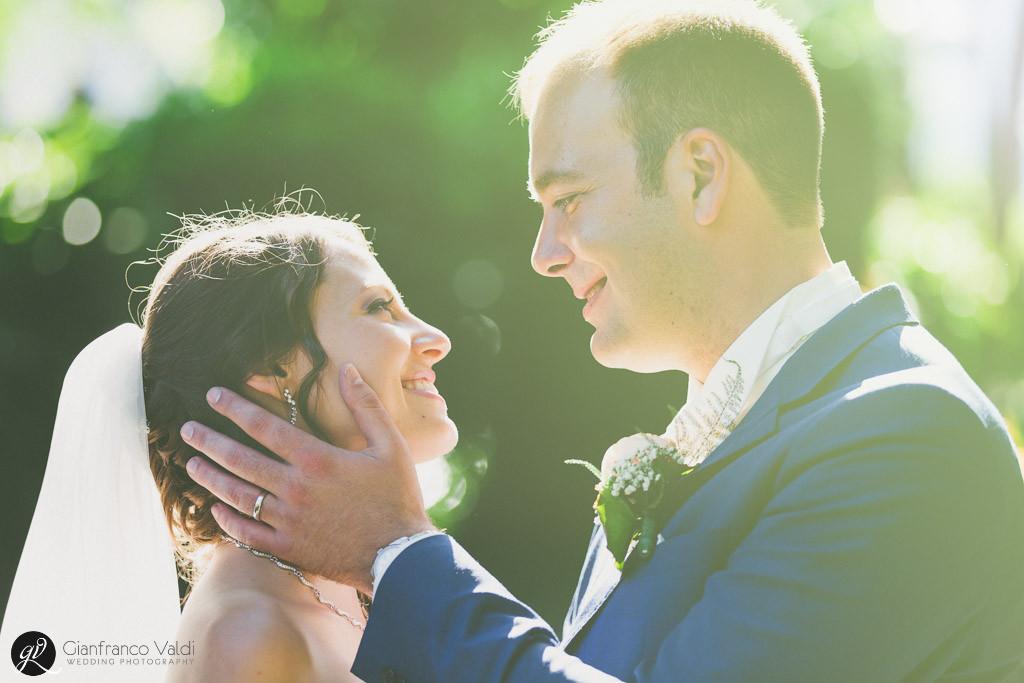 Un matrimonio al tramonto per Laura e Arnaud