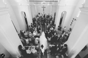 Fotografia dall'alto al momento dell'inizio della cerimonia